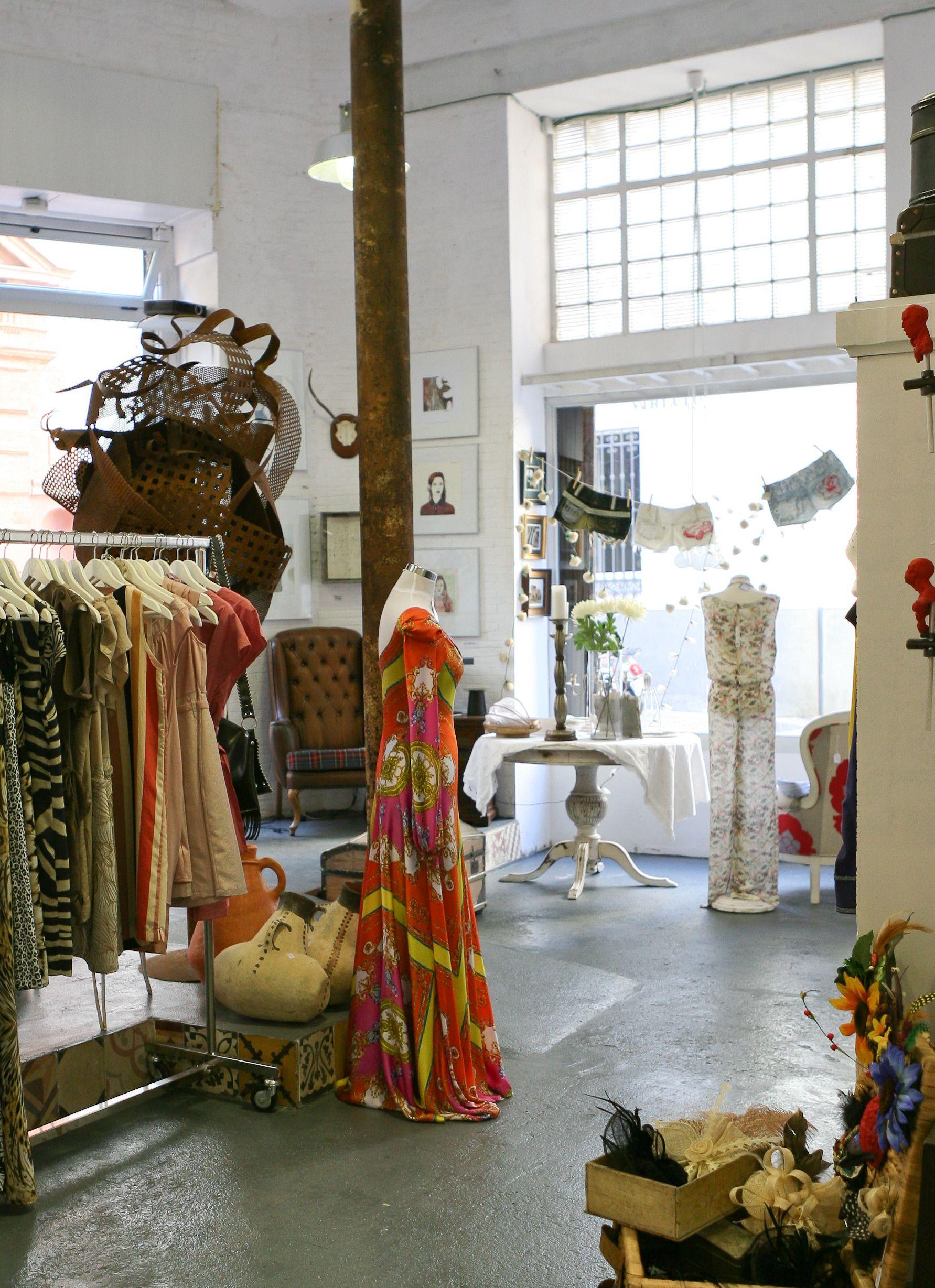 Wabi Sabi Shop & Gallery | Seville, Spain Clothesline of shorts in ...