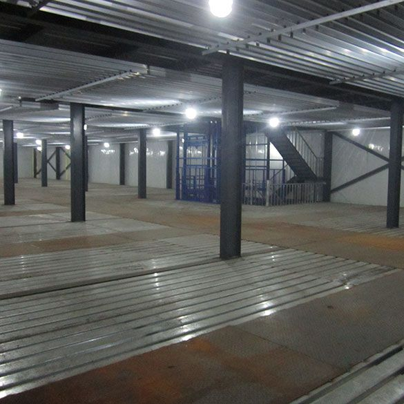 Description of Large Cold Storage Warehouse for Agriculture