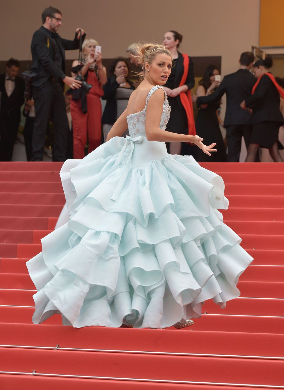 Blake Lively in Vivienne Westwood at Cannes 2016 - Pret-a-Reporter ...