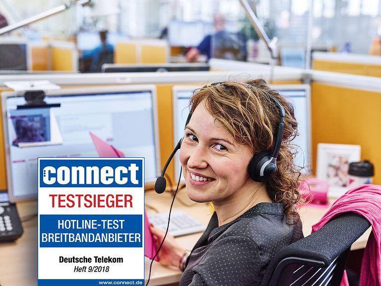 "Trade journal ""connect"" Deutsche Telekom offers the best"