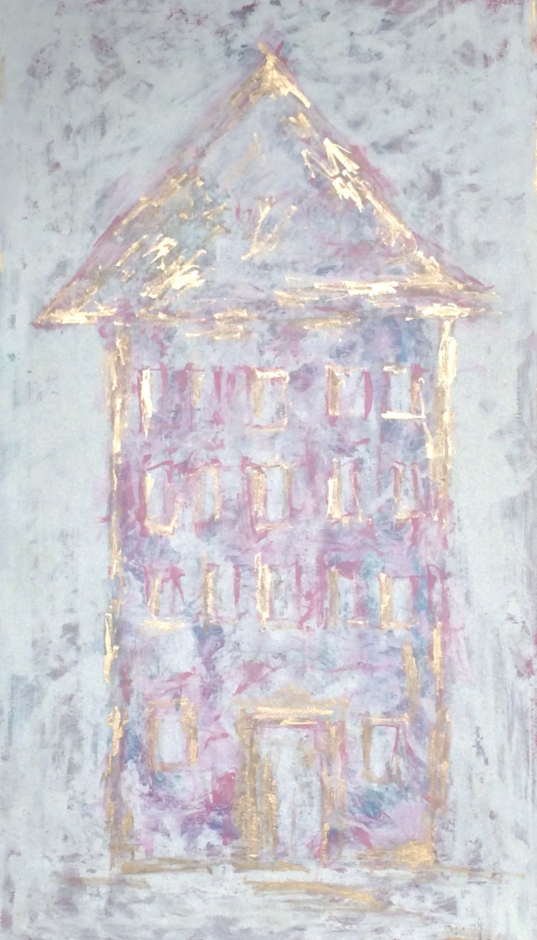 """Title: """"Pink House"""" by ZsaZsa Bellagio"""