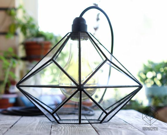 Triakis octahedron big geometric chandelier by stereometricdesign check out our latest collection of lighting designs 16 perfect geometric light designs to decorate your home with mozeypictures Image collections