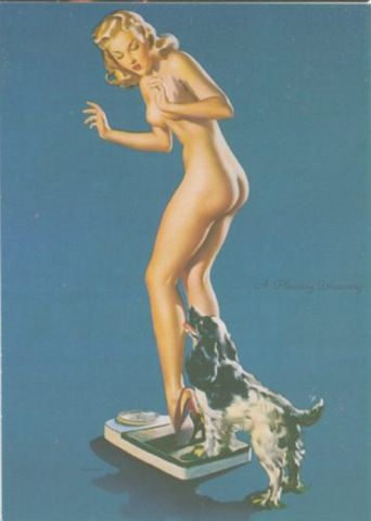 Gil Elvgren (March 15, 1914 – February 29, 1980), born Gilette Elvgren, was an American painter of pin-up girls, advertising and illustration. Elvgren lived in various locations, and was act…