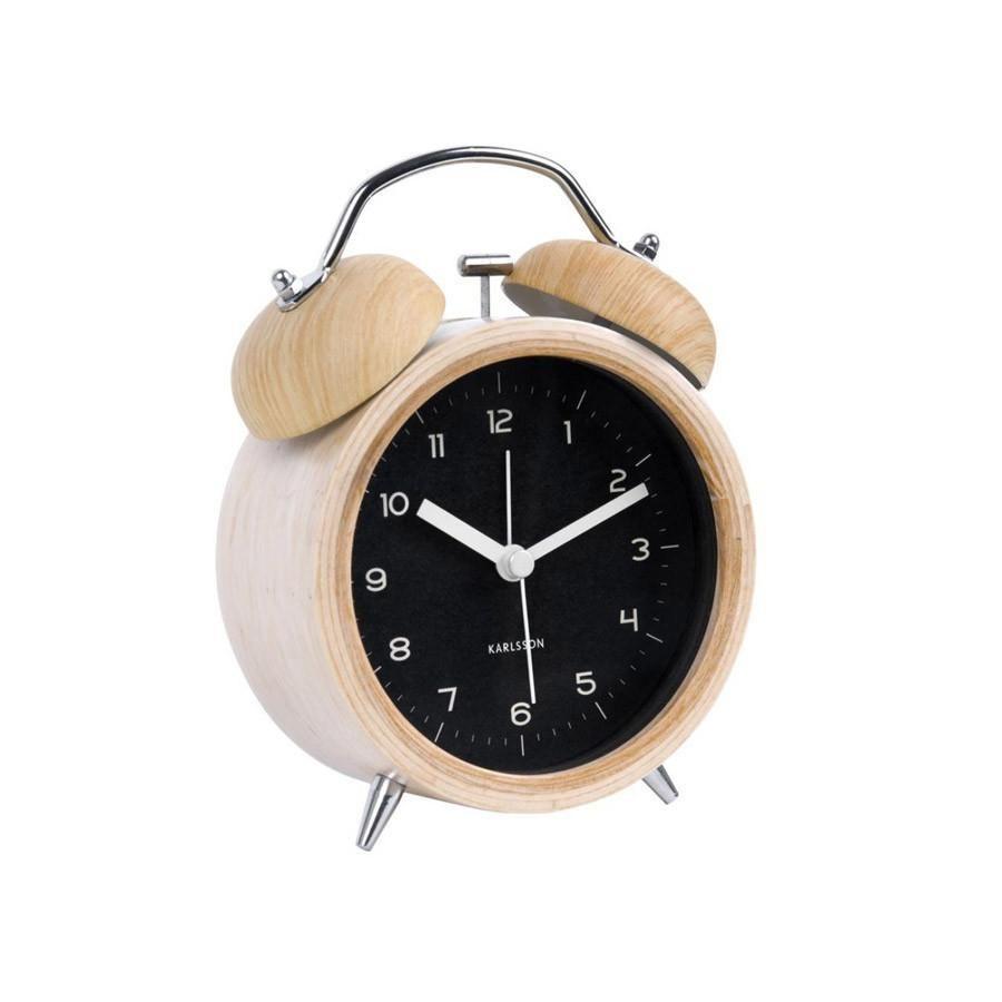 Karlsson Classic Bell Alarm Clock Homeware Gifts Nz Koop Alarm Clock Scandinavian Clocks Unique Alarm Clocks