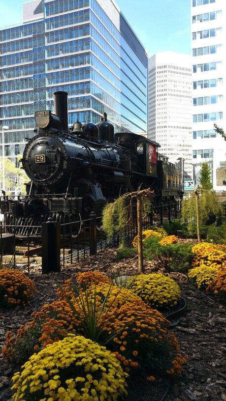 Calgary, Alberta.  Locomotive
