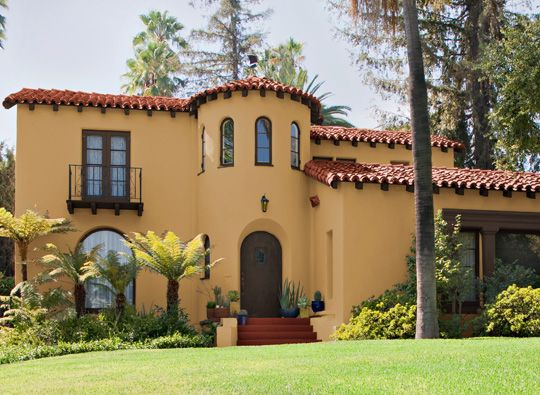404 Error Spanish Style Exterior Paint And Spanish