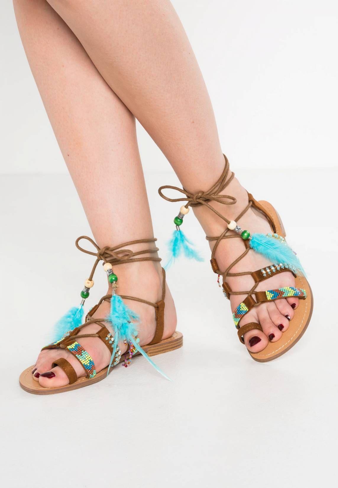 7d6be9fbb T-bar sandals - camel