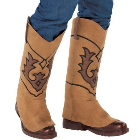 Cowboy Boot Covers - Party City | Boys Halloween | Pinterest ...