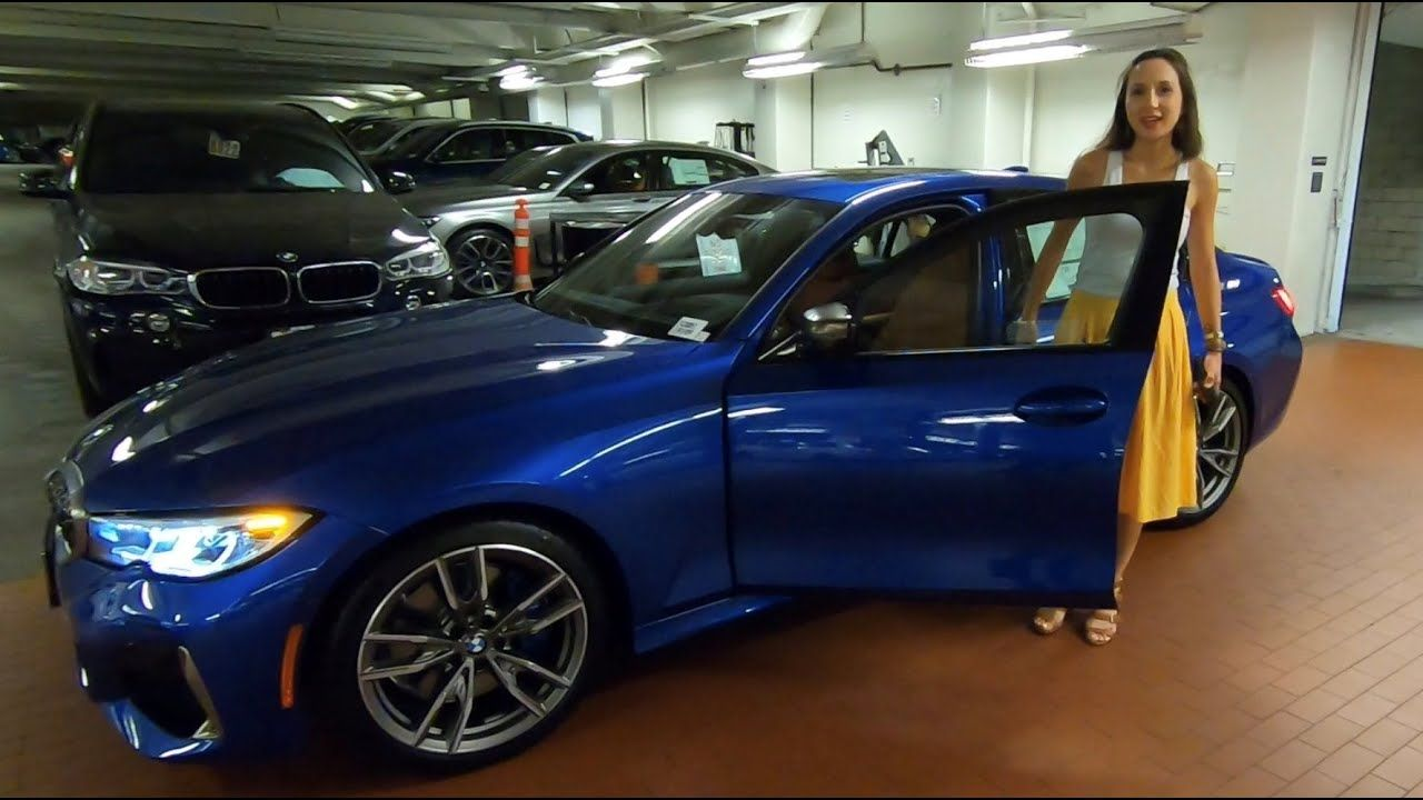 2020 BMW M340i Portimao Blue Metallic with Lauren created