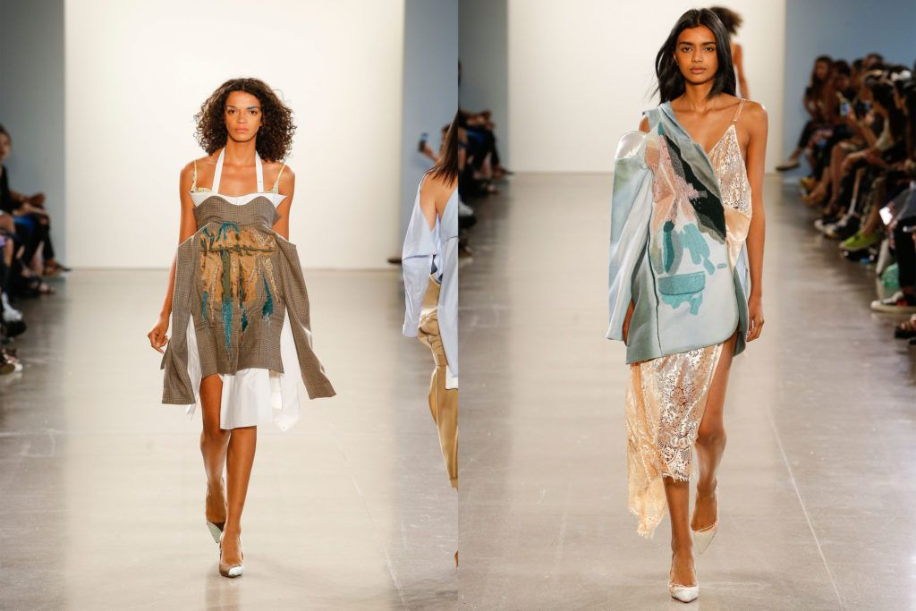 Parsons Mfa Fashion Design And Society Showcases Innovation At Nyfw Show New School News In 2020 Fashion Design Fashion Design