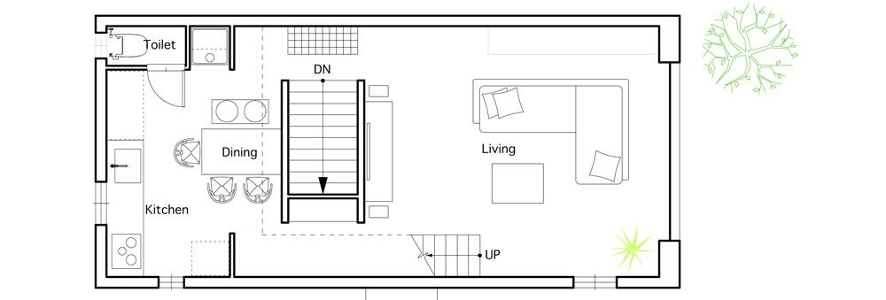 Gallery Of House In Hiyoshi Eana 24 House Floor Plans Small Japanese House House Flooring