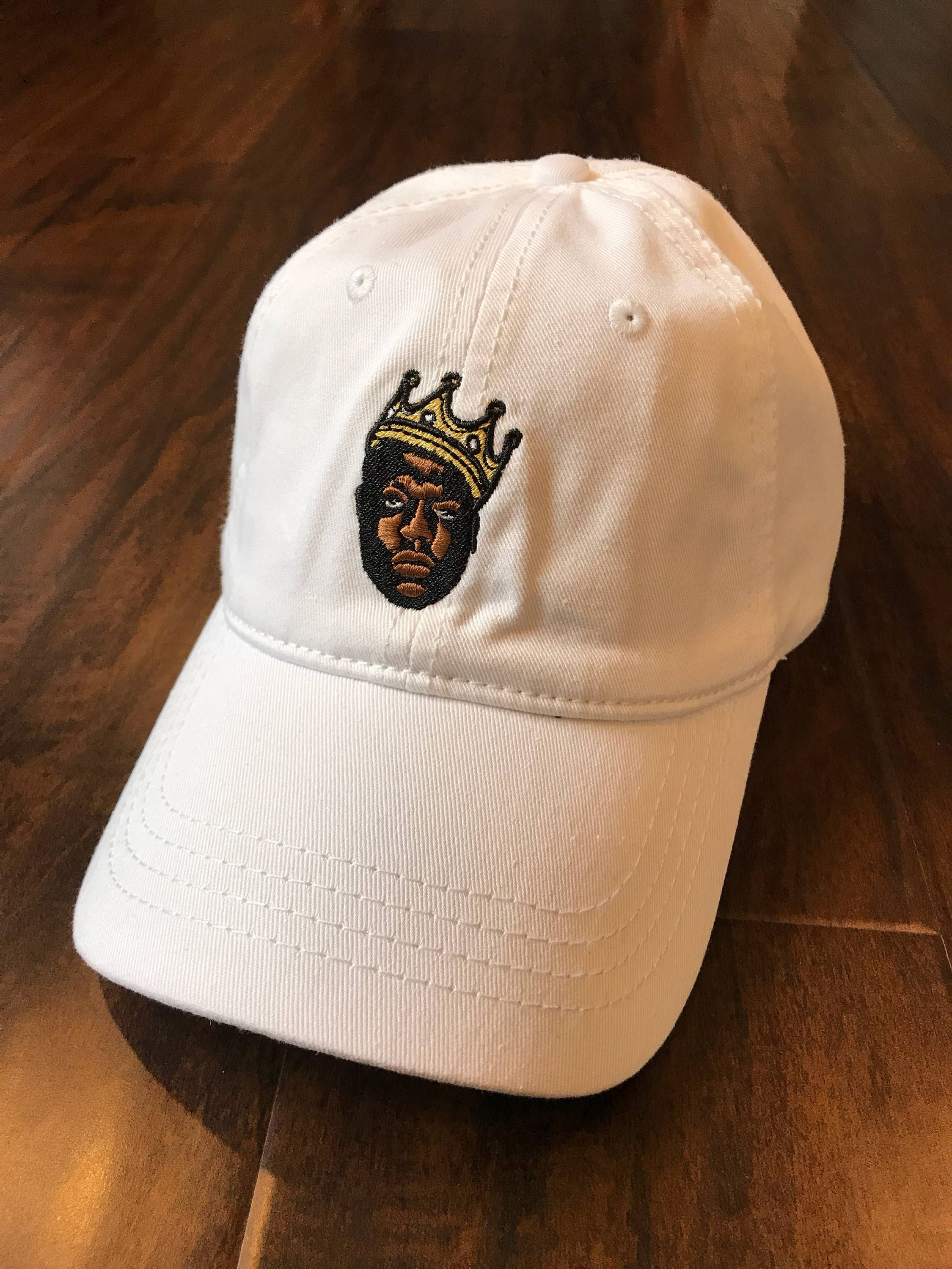 BIGGIE CAP HipHop Legendary Icon Notorious BIG embroidery