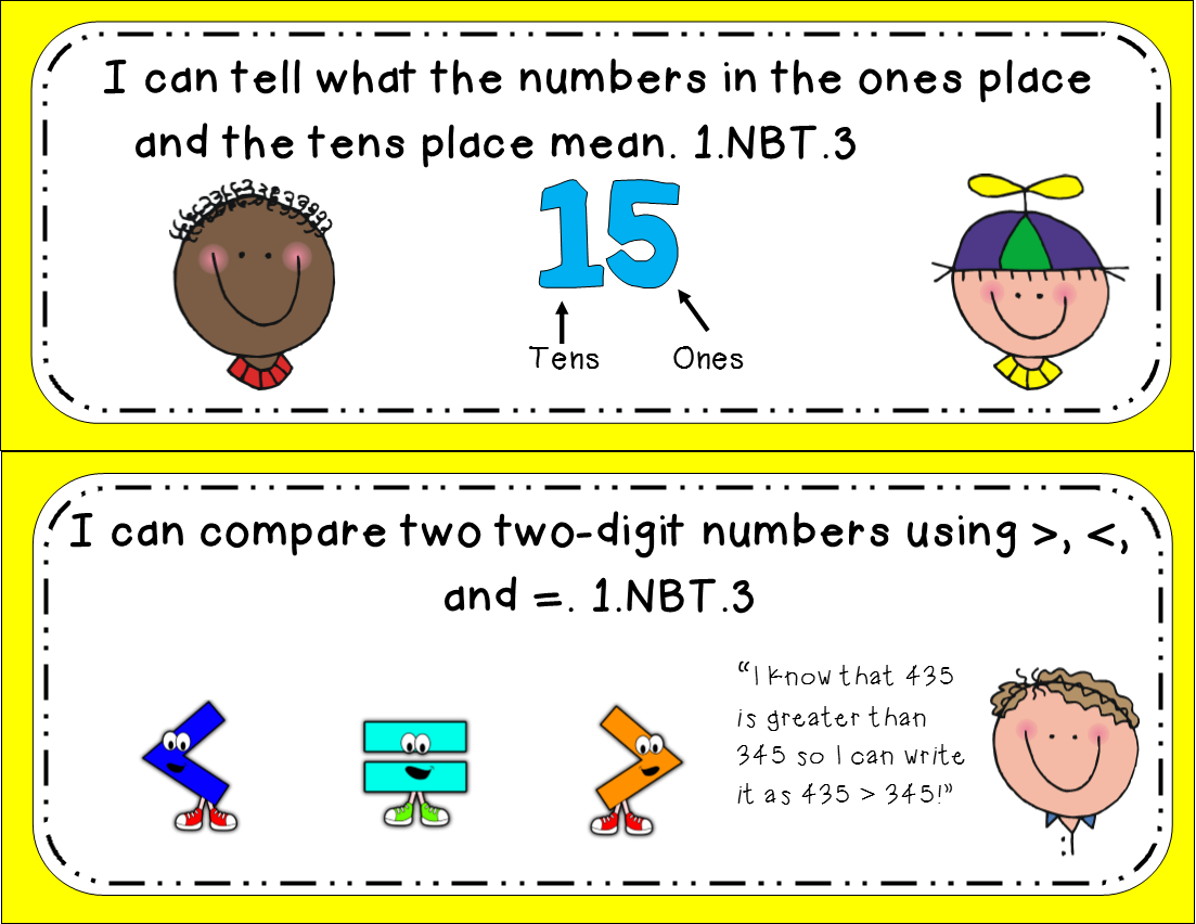 Math Worksheet For Grade 1 Greater Than Less Than