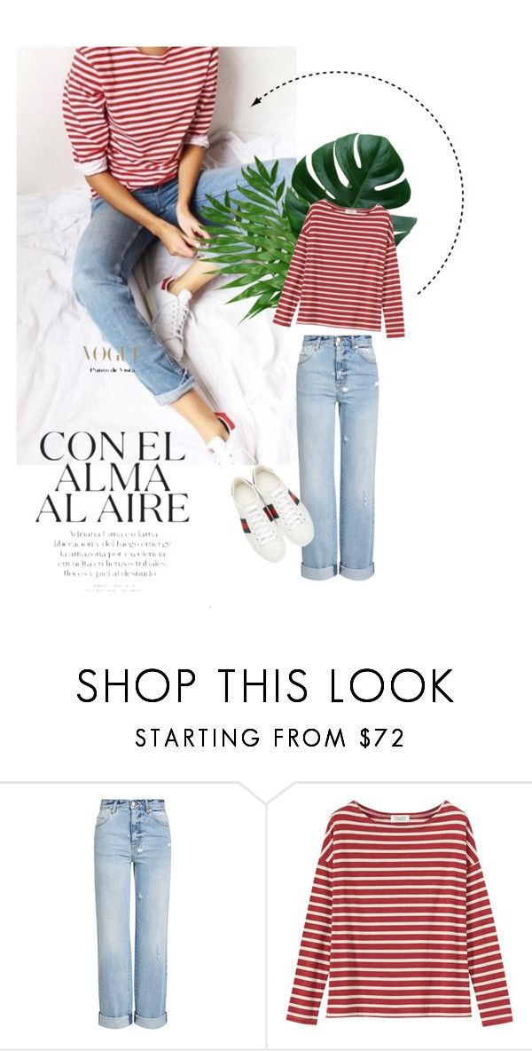"""""""063"""" by lauraruall ❤ liked on Polyvore featuring Alexander McQueen, Toast and Gucci"""