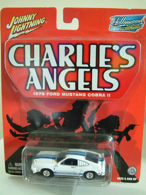 Charlie's Angels Ford Mustang Cobra II by Johnny Lightning