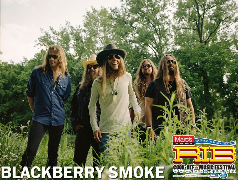 Enter for a chance to win Blackberry Smoke Meet and Greet +