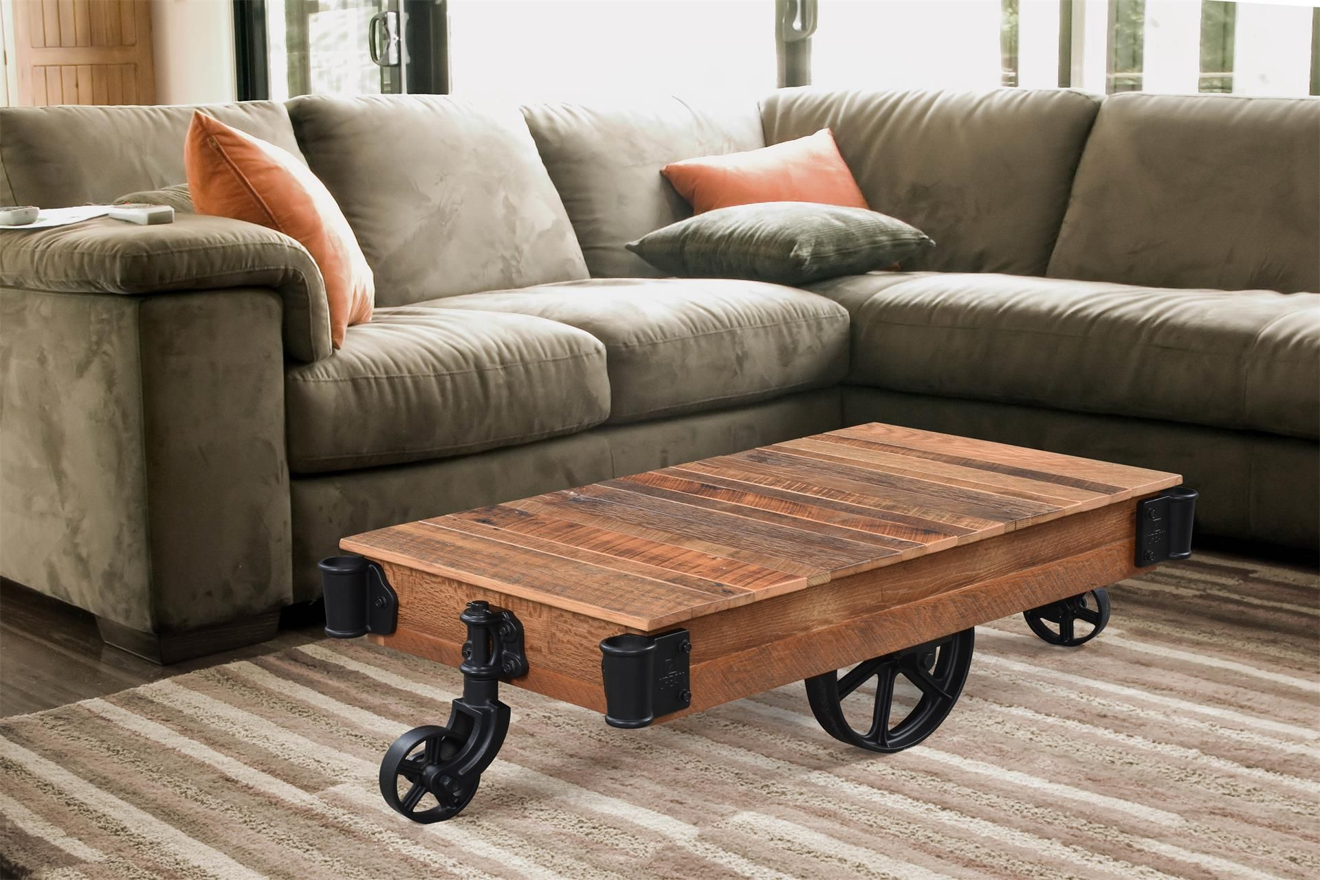Urban Factory Cart Coffee Table