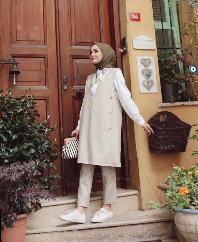 19 Dress Modest Vintage Outfit Pakaian Wanita Gaya Busana Gaya Model Pakaian