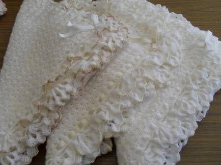 Patrones mantillas para bebé crochet - Imagui
