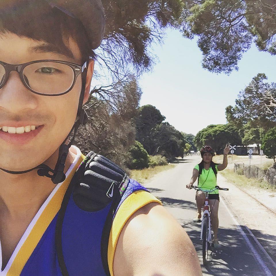 Cycling on the Rottnest  #rottnestisland #hot #cyclingphotos #mummy by fayegershman http://ift.tt/1L5GqLp