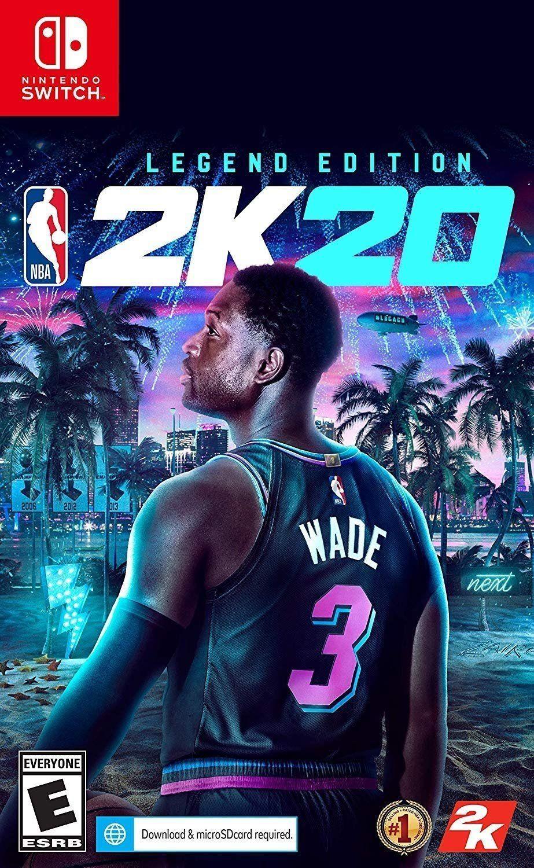 NBA 2K20 Legend Edition Switch in 2020 Nintendo