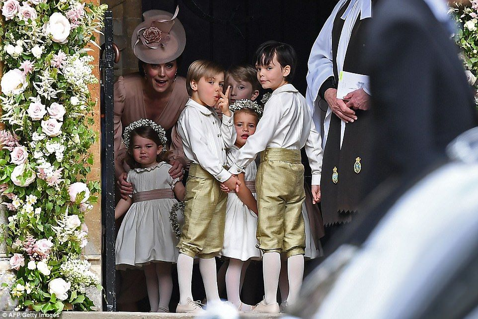 Is this what made naughty George (and his little sis) cry? Prince  GeorgesCatherine ...
