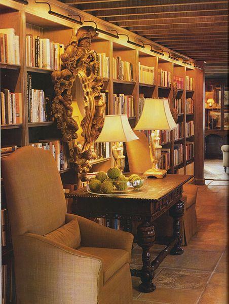 Basement Study Room: Floor-to-Ceiling – INSPIRATION!
