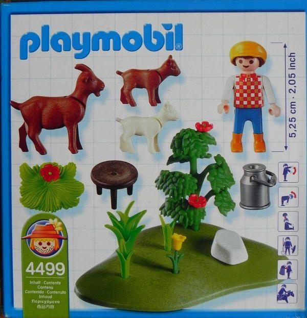 Playmobil Ziegen Hirte Playmobil Spielzeug Und Lego