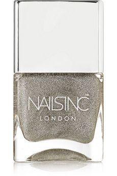 Nails inc Holographic Top Coat - Electric Lane | NET-A-PORTER