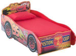 Disney Pixar Cars Wood Toddler Bed 175 29 Wooden Toddler Bed