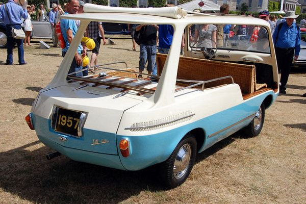 Fiat 600 Multipla Marinella With Images Fiat 600 Fiat Vehicles