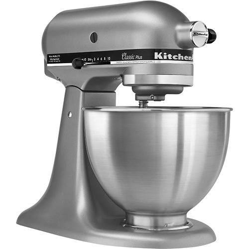 Kitchenaid Classic Stand Mixer Silver Larger Front