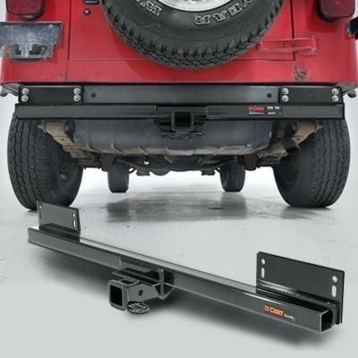 Jeep Wrangler Trailer Hitch Extension Curt Manufacturing Class Iii