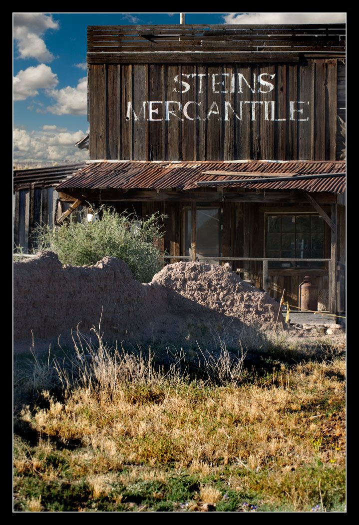 Railroad Ghost Towns of America | Ghost Town of Steins, NM