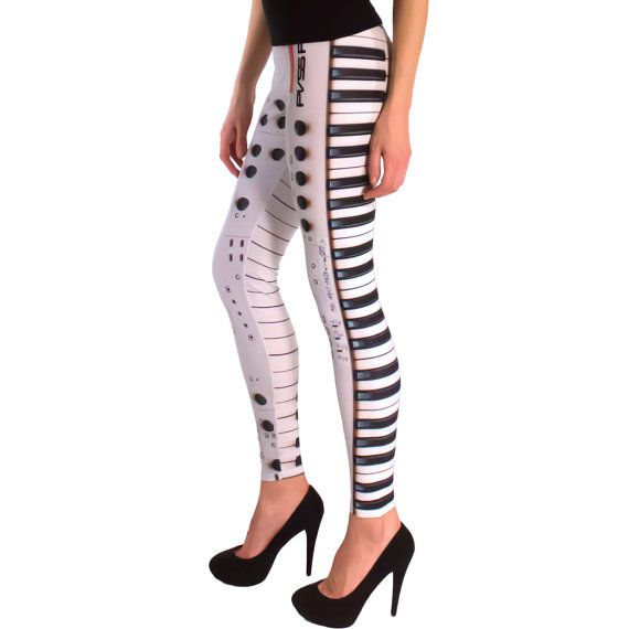 FREE SHIPPING Leggings Puss Ion by thepusspuss on Etsy, $98.00