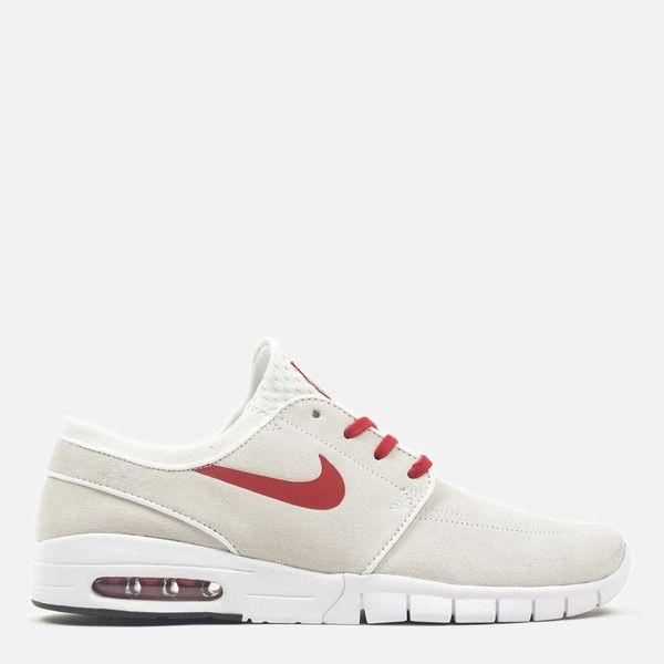 Nike SB Stefan Janoski Max L - Summit White University Red