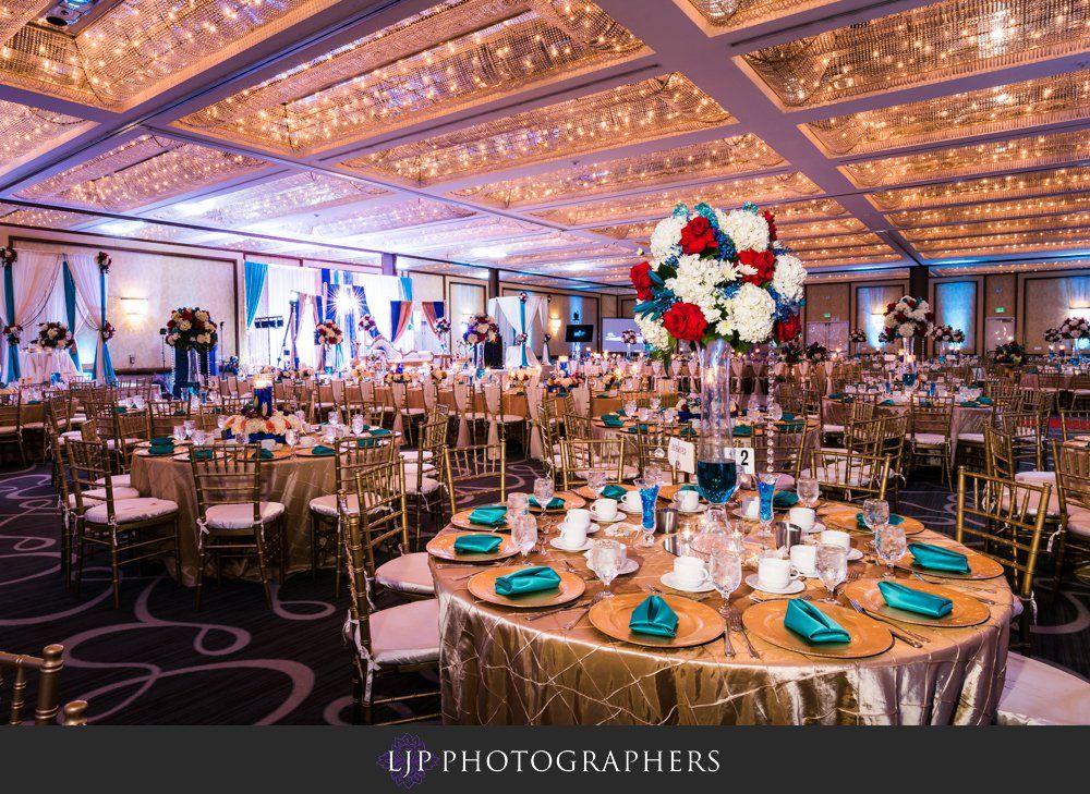 Hyatt Regency Long Beach Wedding Reception Manpreet Sonia