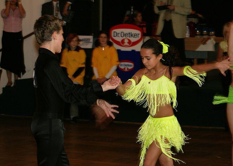 Competição de dança de salão
