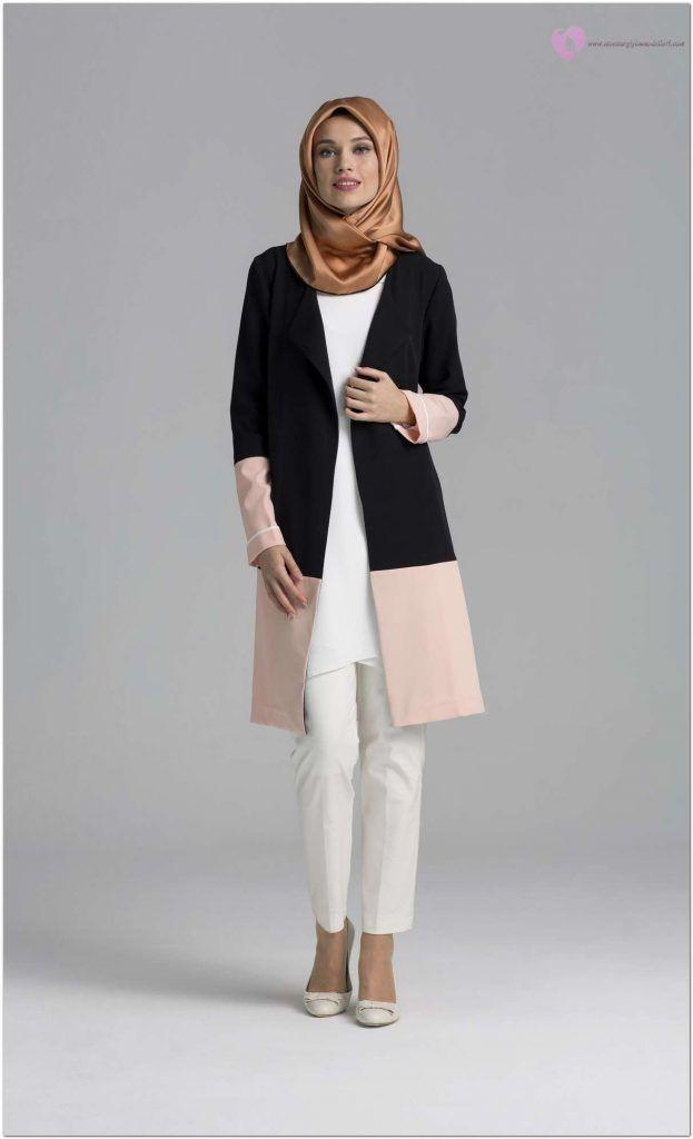 Tesettur Uzun Ceket Modelleri Bayanlarin Paylasim Matinesi Kadin Giyim Moda Mont