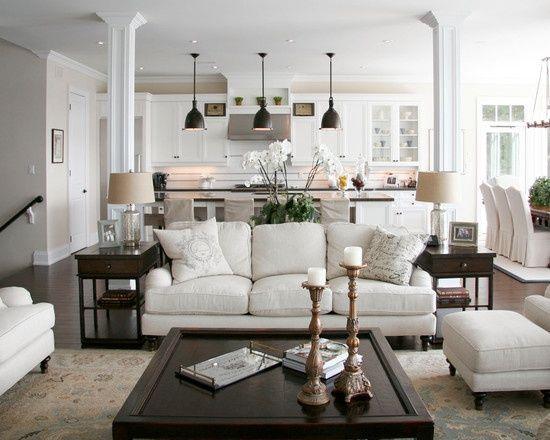 15 Interesting Traditional Living Room Designs With Images Open Concept Living Room Traditional Design Living Room Open Concept Kitchen Living Room