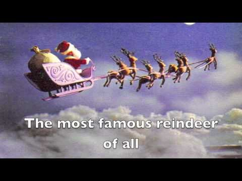 ▷ Rudolph the Red Nosed Reindeer LYRICS VIDEO - YouTube CHRISTMAS