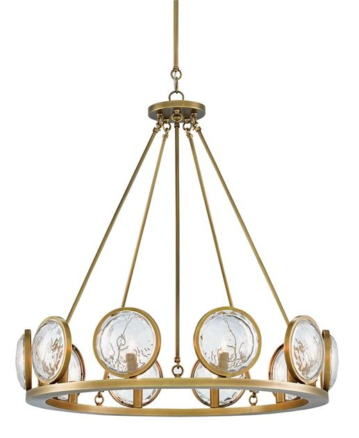 Marjiescope chandelier from currey company