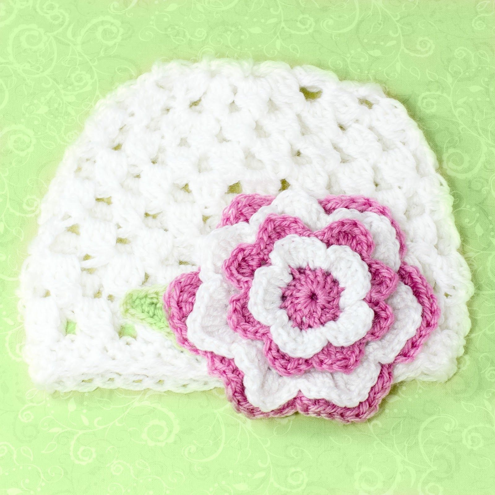 12 Months - 3 Year Old Beanie Crochet Pattern via My Favourite ...