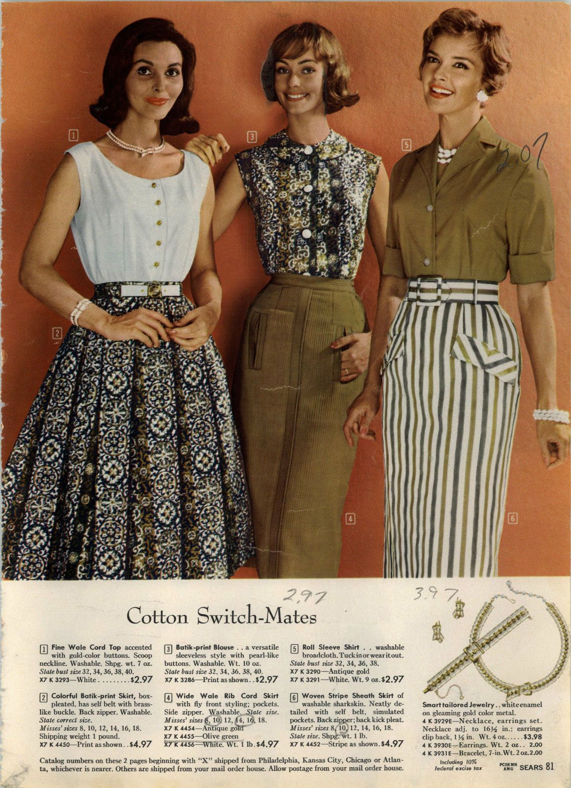Pin by Theresa Tucker on All about my style--60s separates | Summer
