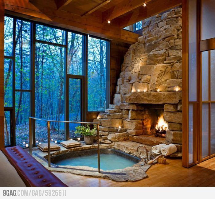 Ooooh! sí.  Por cierto, precioso el bosque... muy misterioso. Dar un paseo y luego un baño :)