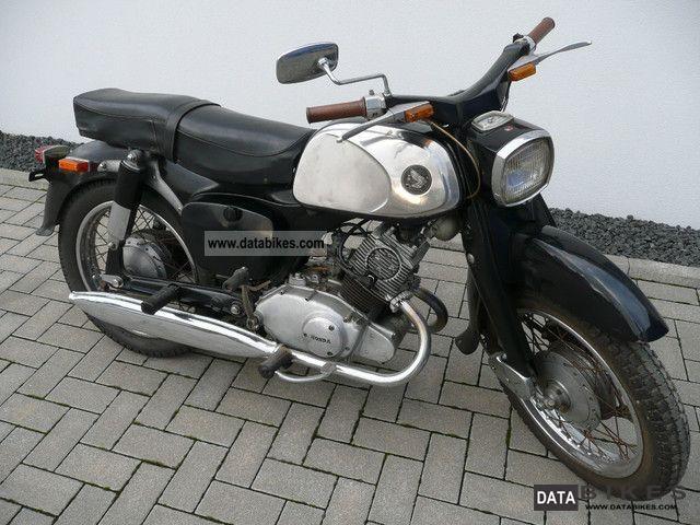 1962 Honda 2 Cylinder 125cc C92 Benly 4 Stroke Engine Honda Honda 125 Cylinder