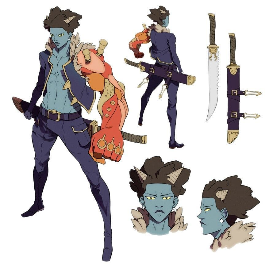 Mizael Tengu On Instagram Oni Boy Mutant Oni Characterdesign Adoptable Anime Manga Mo Anime Character Design Fantasy Character Design Character Design
