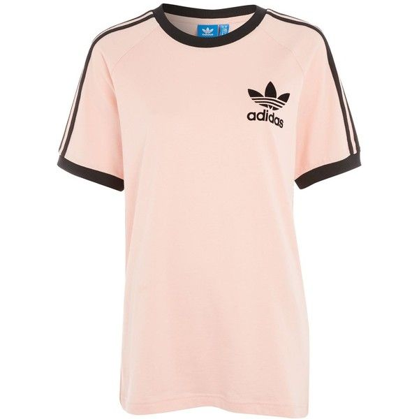 California T-Shirt by Adidas Originals (115 BRL) ❤ liked on Polyvore  featuring tops c2fe5513f03d2