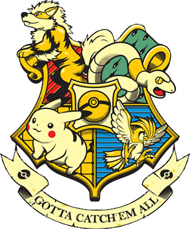 Pokemon Harry Potter Stickers By Andreadebole94 Redbubble