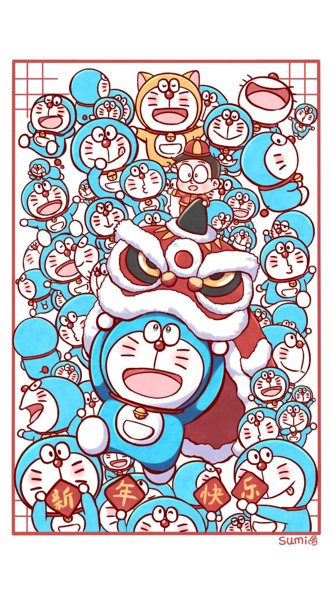 Ghim của wiwin prayitno trên Doraemon ☆ BG trong 2020